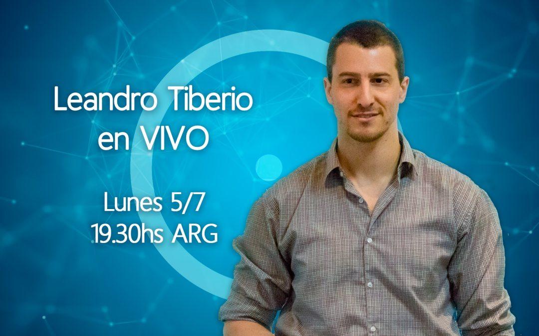 Leandro Tiberio En VIVO inspiración espiritualidad gnosis todo es uno
