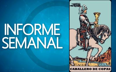 INFORME SEMANAL DE TAROT: 25/10, caballero de Copas